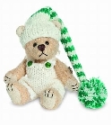 peluche-teddy Ours teddy de collection Joni 9 cm