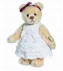 peluche-teddy Ours teddy de collection Antonia 10 cm
