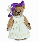 peluche-teddy Ours teddy de collection Lady Ascot 10 cm