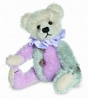 peluche-teddy Ours teddy de collection Harlequin rose