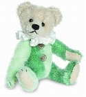peluche-teddy Ours teddy de collection Harlequin 10 cm