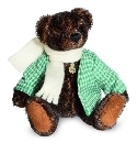 peluche-teddy Ours teddy de collection Wilfried 13 cm