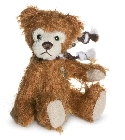 peluche-teddy Ours teddy de collection Terry 10 cm
