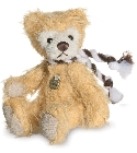 peluche-teddy Ours teddy de collection Larry 10 cm