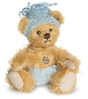 peluche-teddy Ours teddy de collection Baby boy 10 cm