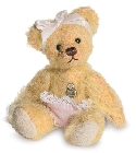 peluche-teddy Ours teddy de collection Baby girl 10 cm