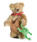 peluche-teddy Ours de collection Tom Sawyer 11 cm