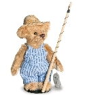 peluche-teddy Ours de collection Huckleberry Finn 11 cm