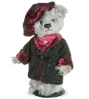 peluche-teddy Ours teddy de collection Wagner 11 cm