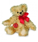 peluche-teddy Ours de collection mohair Dagmar 14 cm