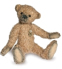 peluche-teddy Ours de collection antique beige 11 cm