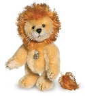 peluche-teddy Peluche de collection lion Lowe 10 cm