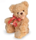 peluche-teddy Ours Teddy de collection doré 18 cm