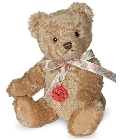 peluche-teddy Ours en peluche de collection Fabio 27 cm