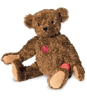 peluche-teddy Ours en peluche de collection Roger 39 cm