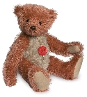 peluche-teddy Ours de collection rouge beige 30 cm