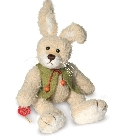 peluche-teddy Lapin de collection Hermann Teddy 30 cm