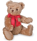 peluche-teddy Ours de collection tradition avec voix 30 cm