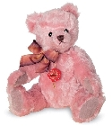 peluche-teddy Ours de collection Nostalgie rose 27 cm