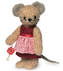 peluche-teddy Peluche de collection Mme Mouse 17 cm
