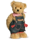 peluche-teddy Ours de collection Wolfgang magnets 30 cm