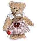 peluche-teddy Ours de collection Thérèse 27 cm