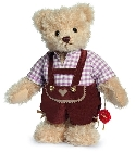 peluche-teddy Ours de collection Thomas 27 cm
