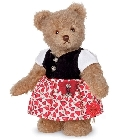 peluche-teddy Ours de collection Luise 27 cm
