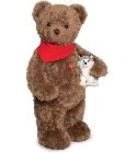 peluche-teddy Ours de collection Uli 103 cm