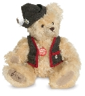 peluche-teddy Ours teddy de collection Alberth 33 cm