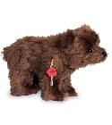 peluche-teddy Ours de collection grizzli 23 cm