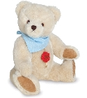 peluche-teddy Ours de collection Luka 28 cm