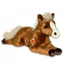 peluche-teddy Peluche cheval marron Hermann 70 cm