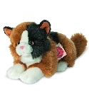peluche-teddy Peluche Chat Herman tricolore 20 cm