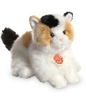 peluche-teddy Peluche chat tricolore Hermann 24 cm