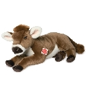 peluche-teddy Peluche vache Hermann allong�e 40 cm