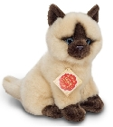 peluche-teddy Peluche chat siamois assis Hermann 20 cm