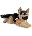 peluche-teddy Peluche chien berger allemand allongé 60 cm