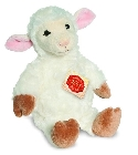 peluche-teddy Peluche mouton assis Hermann 23 cm