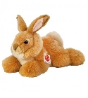 peluche-teddy Peluche lapin or allongé Hermann Teddy 25 cm